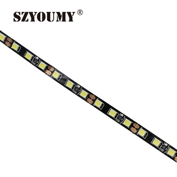 SZYOUMY 12V 2835 100M LED Pásika 5 mm Slim 8MM IP65 IP20 Non-Nepremokavé 120leds/M 5 m/Roll LED Strip White/WarmWhite/Modrá/Červená/Zelená